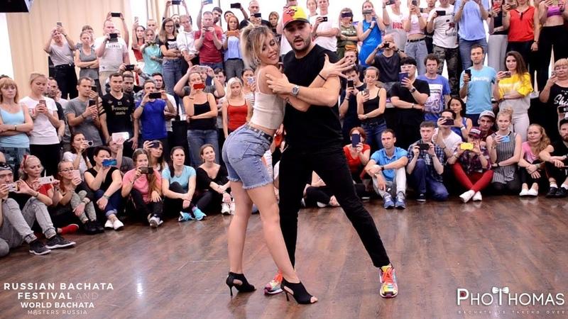 Dario y Sara [Te Ves Buena] @ Russian Bachata Festival 2019