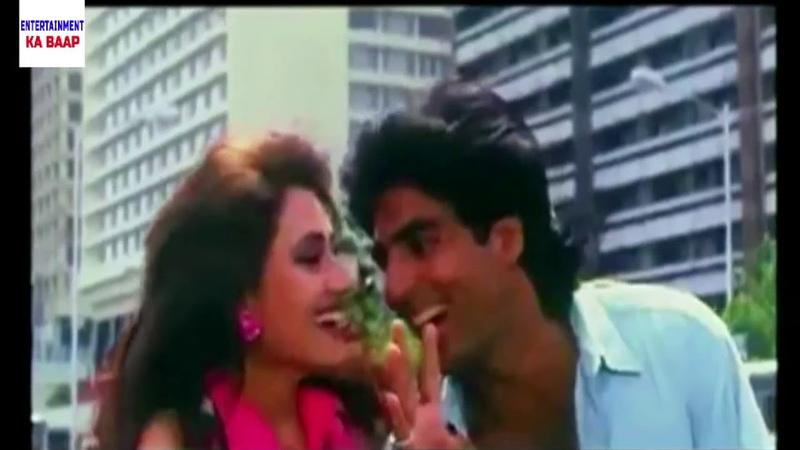 PAANDAV Hindi II Tere Liye Rehta Hai Superhit Romantic Song II Akshay Kumar Nandini