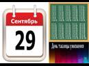 День таблицы умножения