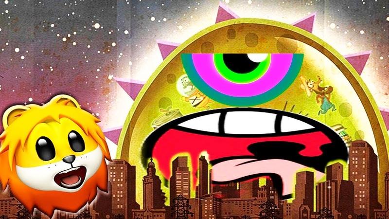 Лизун СЛИЗНЯК захватывает мир 7. Глазастик съел всех в городе на СПТВ! Mutant Blobs Attack