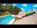RAMPING 100MPH RC CAR OFF MY ROOF