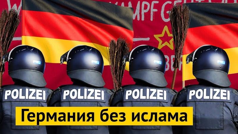 Протесты в Берлине: леваки против националистов