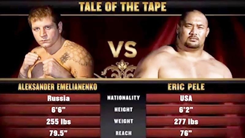 Aleksander Emelianenko beats Eric Pele in 13th MMA fight HD | The Grim Reaper Knockout
