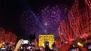 Nouvel an 2020 feux d'artifice Paris