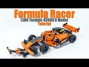 Tutorial for Formula Racer LEGO Technic 42093 D Model