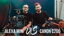Cinema Cameras Alexa Mini vs Canon C200
