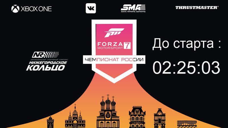 Чемпионат России по Forza Motosport 7 | 2-й этап - Нижний Новгород