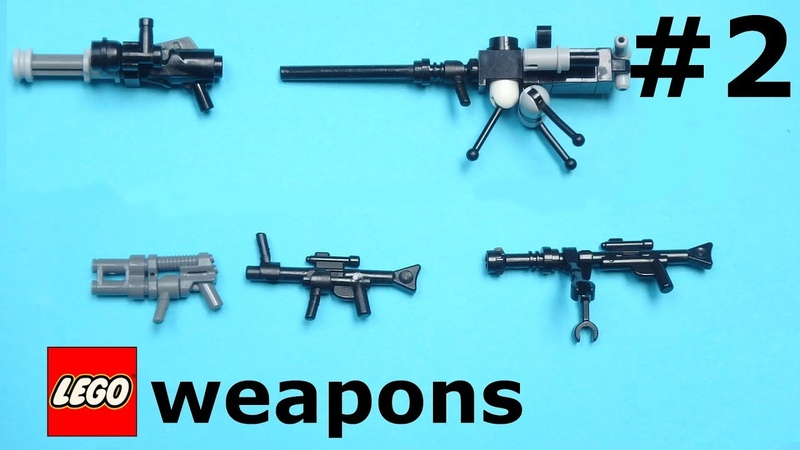 8 more Lego weapons for your minifigures LW 2