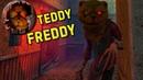 Злой мишка Teddy Freddy - horror game Первый взгляд! Плохая концовка.