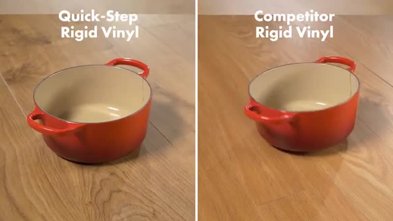 Revolutionary strength See it with your own eyes Quick Step Rigid vinyl