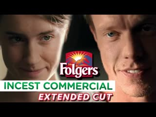 Folgers coffee brother  sister home for christmas 2009 christmas tv commercial