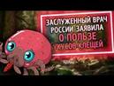 Из России с любовью Заслуженный врач России заявила о пользе укусов клещей 720P inet