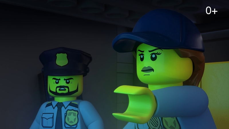 Когда каркает ворон LEGO City