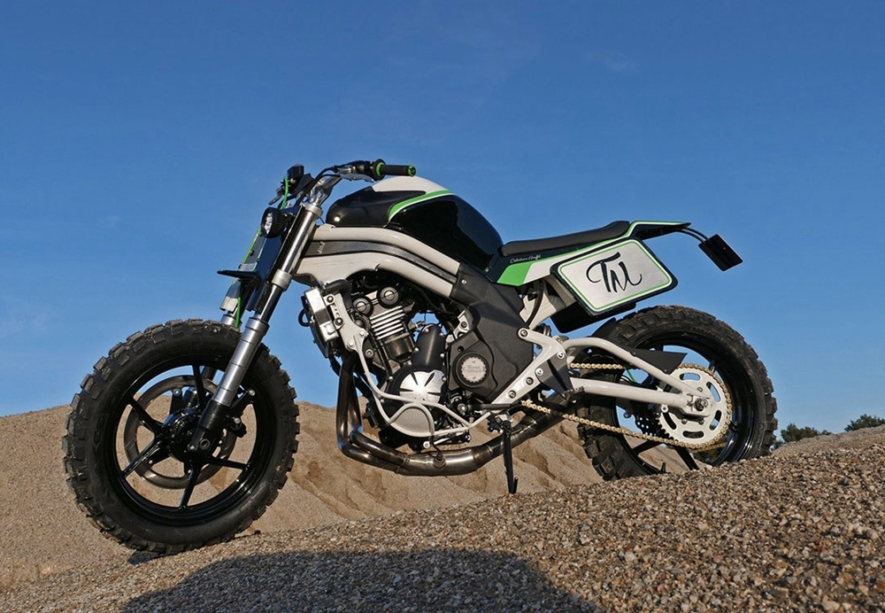 Taverne Motorcycle Garage: стрит-трекер Kawasaki ER-6n