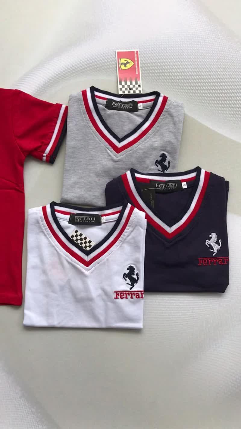 Футболки Ferrari
