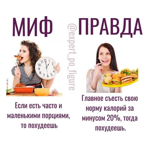 Как похудеть на дефиците калорий