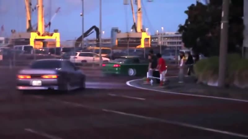 TeamA99E illegal Street Drifting in Japan グループドリフト アナーキースタイル ★ Drift Family ★