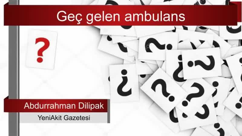 29. Abdurrahman Dilipak'tan mahalleye yine sert eleştiriler... Sesli Makale.mp4