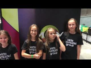 Репортаж kids model group 5 октября, международный форум моды