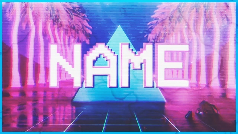 2D Chill Intro Template 968 Panzoid Free Download (retrowave/vaporwave)
