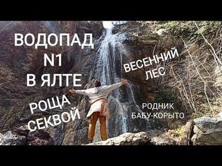 Водопад N1в Ялте! Река имени Люка Скайуокера! Роща секвой. Родник Бабу-Корыто.