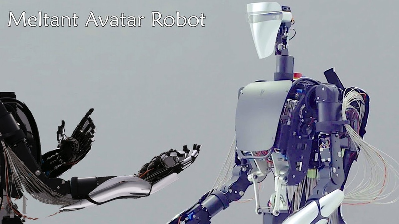 """MELTANT α"""" an Avatar Robot with the world's most powerful and flexible Robotic Hand"""
