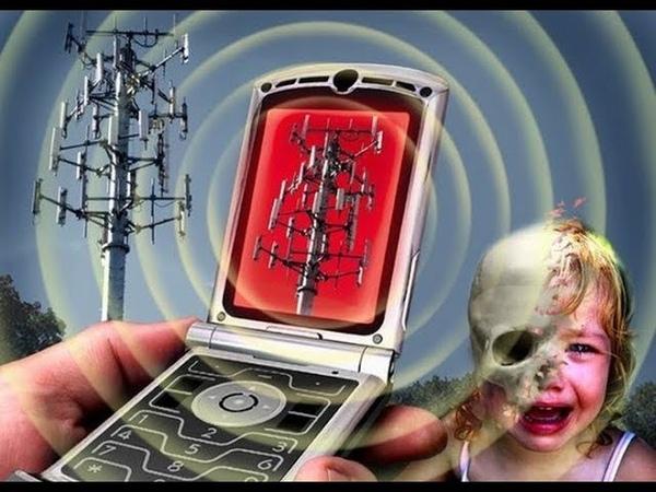Берегите себя и своих детей! К чему приводит излучение сотовых телефонов.