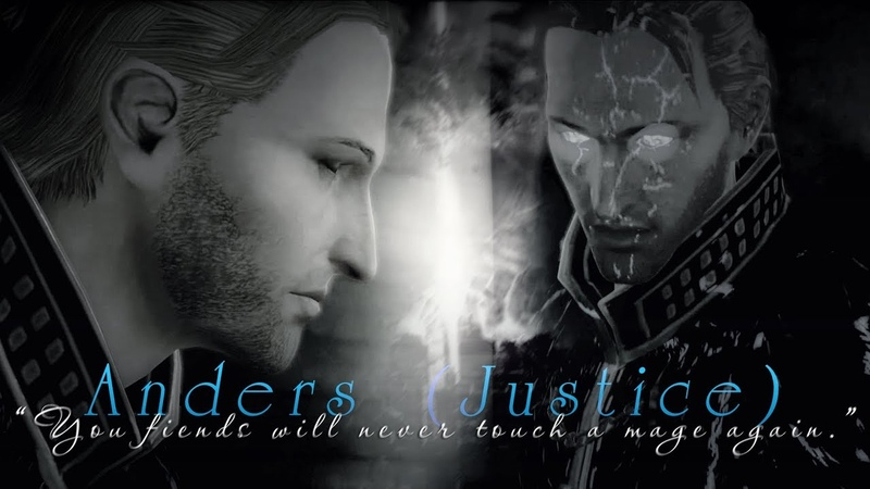 Anders (Justice) | Dragon Age | You fiends will never touch a mage again