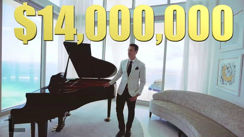 Touring a $14 Million Dollar   Miami Penthouse   Peter J Ancona- Vlog 002
