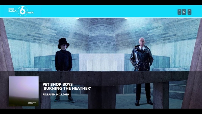Pet Shop Boys on BBC6 ('Burning the heather' premiere)