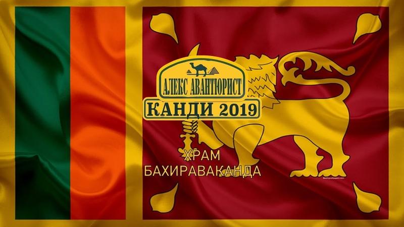 Канди 🇱🇰 Храм Бахираваканда Шри Ланка Большой Будда 💯Алекс Авантюрист