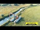 Очистка ручьев в Дании с Remu Big Float E10