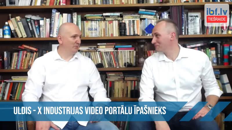 Pirmo reizi tiešraižu vēsturē mums ir pieaugušo industrijas pārstāvis latvietis Uldis kura Hardcore video portāli sa