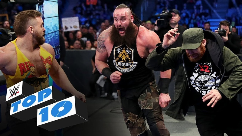My1 Top 10 Friday Night SmackDown moments WWE Top 10 Feb 7 2020