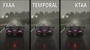 Assetto Corsa Competizione 1.0.2 Anti-aliasing test FXAA vs Temporal vs KTAA