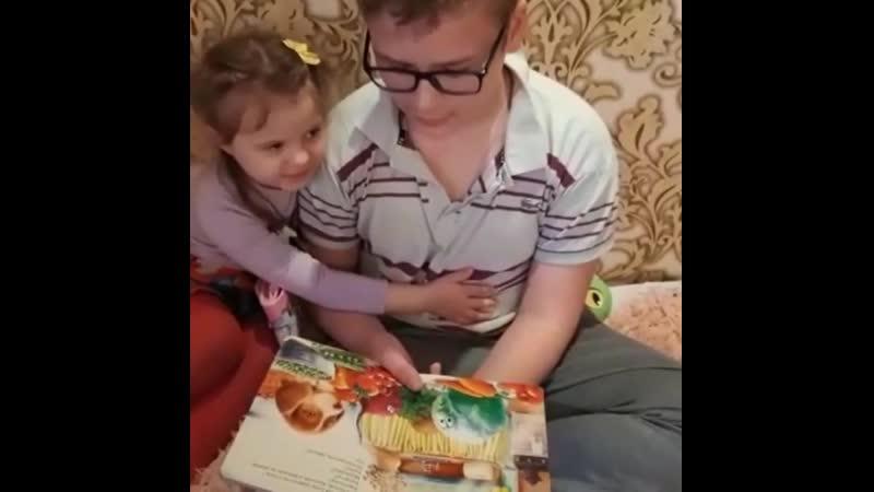Малышева Даша воспитанница второй младшей группы Староминскийрайон Канеловская читаемдома Кубань