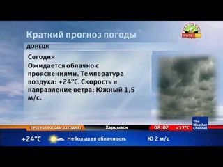 The Weather Channel - Local on the 8's - 27 апреля 2019 (8:00)