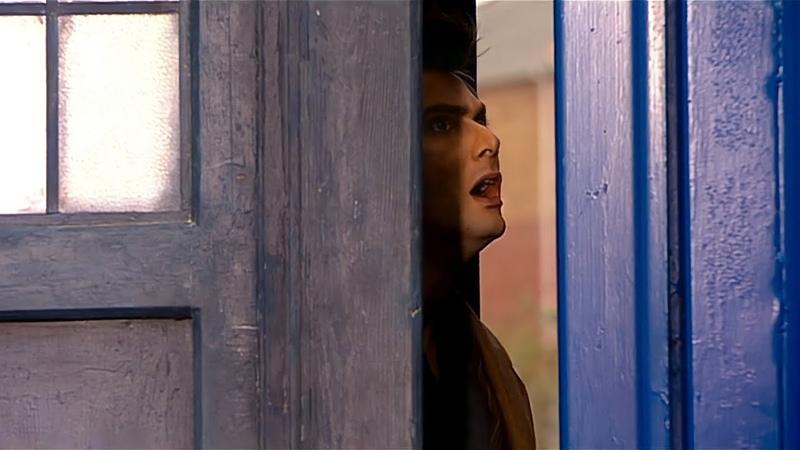 Доктор не правильно паркует ТАРДИС Бойся её Доктор Кто