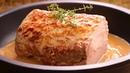 Lomo de Cerdo en Salsa con Almendras SIN horno súper Delicioso