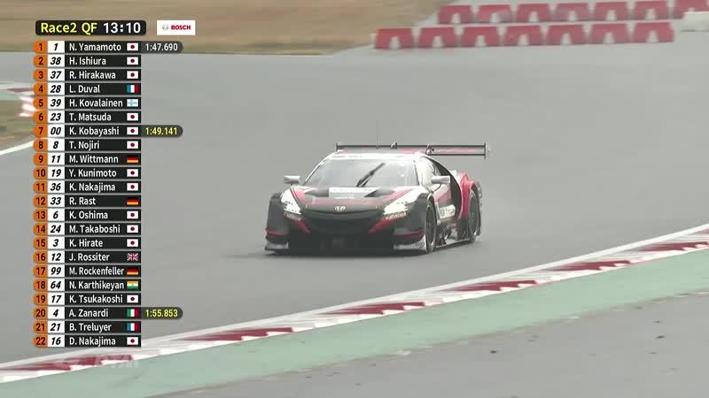 Super GT x DTM. Гонка Мечты - Фудзи. Квалификация 2.