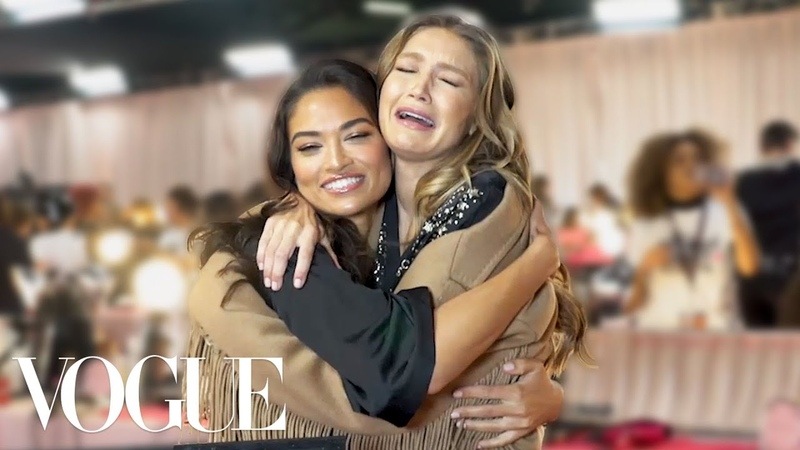 Gigi Bella Hadid Taylor Hill and More Victoria's Secret Models Play Two Truths and a Lie Vogue