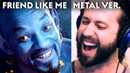 Disney s Aladdin FRIEND LIKE ME Metal Cover by Jonathan Young