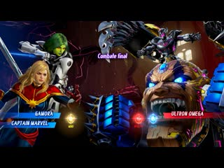 Mvci nudemods - cpt marvel  gamora (arcade mode) pt2