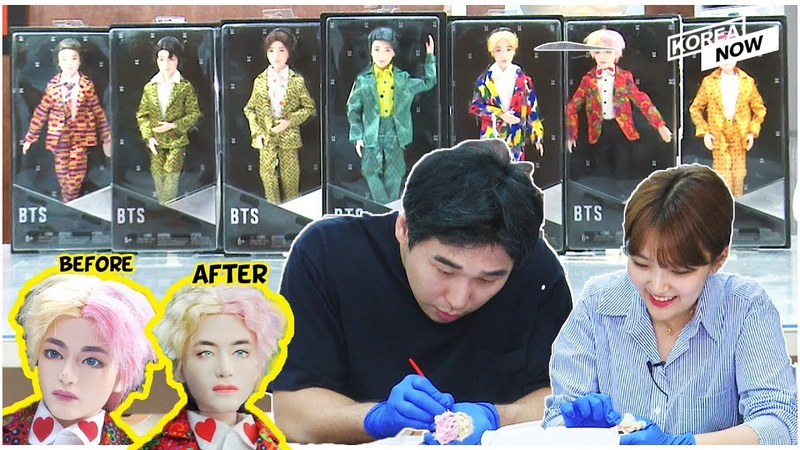 Korea's one and only doll repainter Taegi Kim is going to show you how to repaint BTS V doll