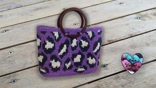 Sac Léopard Crochet Lidia Crochet Tricot