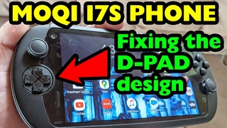 Fixing the D Pad on the Moqi I7S Android Gaming Phone