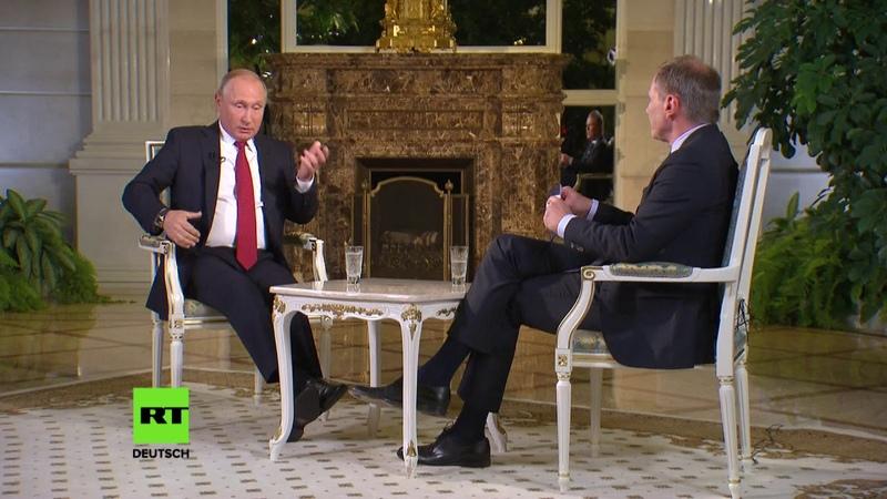 Putin beim Österreichischen Rundfunk Seien Sie so nett lassen Sie mich ausreden