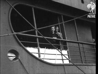 Duke Of Windsor On Liner (1945-1946)