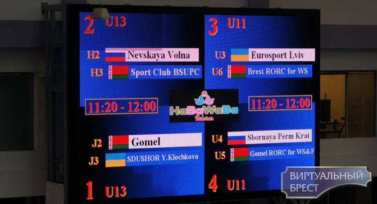 Брест принимает участников международного турнира HaBaWaBa