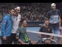 Roger Federer Visit to Japan | Shingo Kunieda-Gordon Reed-John Isner | Referee-Kei Nishikori